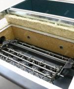 Reinigungssystem des Wärmetauschers