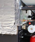 Kesseldämmung – Steinwolle 20-60mm dick, mit Alufolie bedeckt